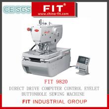 Direktantrieb Computer Control Eyelt Knopfloch Nähmaschine (9820)