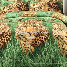 Impreso Patrón y 100% Poliéster Material tela de impresión animal