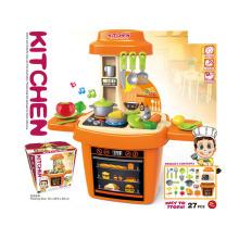 Пластиковый набор для детской кухни с музыкой и светом (H5931056)