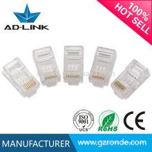 Connecteur de câble lan rj45 ethernet rétractable