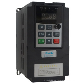 Inversor trifásico de la frecuencia del convertidor de frecuencia del convertidor de frecuencia de 0.2kw-3.7kw trifásico