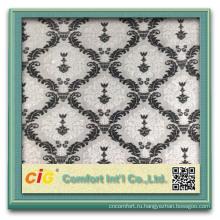 последние дизайн Китай бархатные ткани декоративные диван ткань Цена за метр
