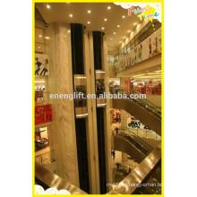 Baixo custo e elevador panorâmico interior