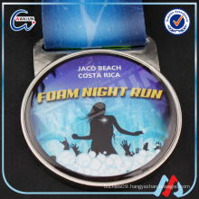 promotion foam night run memorial medal
