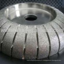 roue de polissage de diamant rond de granit