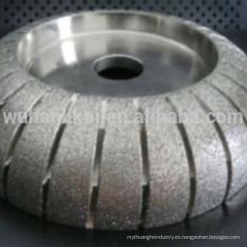 rueda redonda de pulido de granito diamante