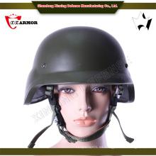 Tamaño medio al aire libre pe material casco balístico