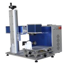Máquina de marcação a laser de fibra de alumínio para panelas de fivelas
