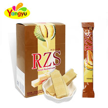 Durian Fruits Flavors Wafer Sandwich Biscuits Stick