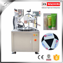 Medical Cream, Hand Cream, Cosmetic Lotion Small Automatic Filling Sealing Machine For Plastic Packing