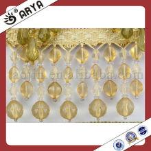 Full Acrylic Beads Trim Fringe para Lampshade
