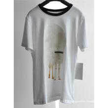 Men's Design de Moda T-shirt de algodão impresso para o verão