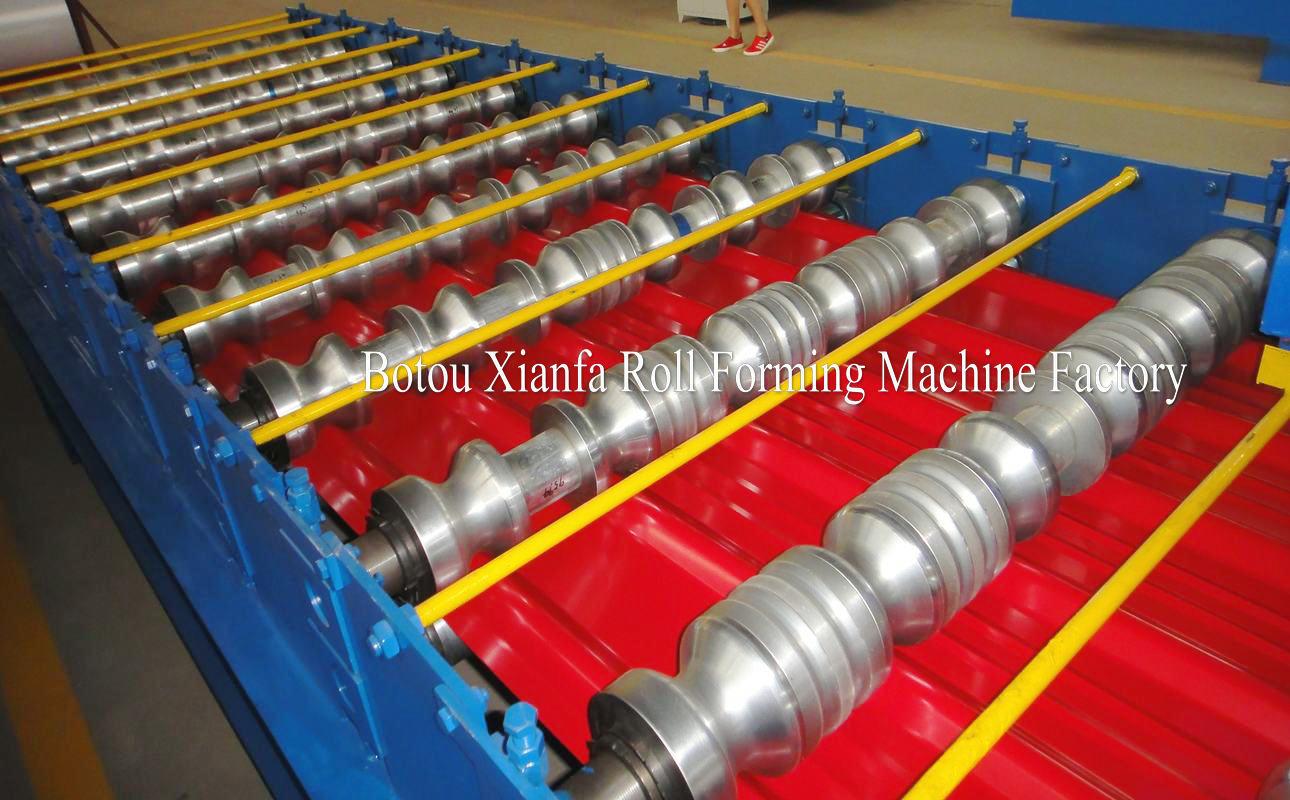 ibr glazed forming machine