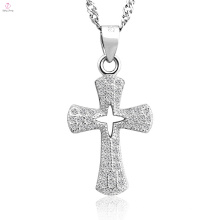Новое прибытие античный лучшие 925 серебряный крест подвеска