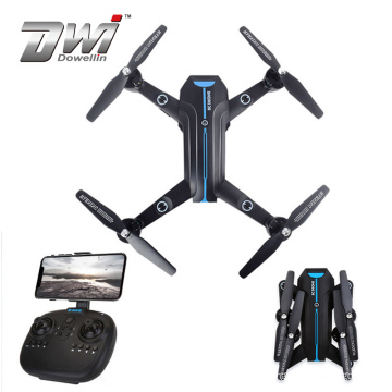 DWI Hot Selling  Four axis aircraft with WIFI 200W pixels FPV HD Camera self-timer Foldable Aerial UAV Drone