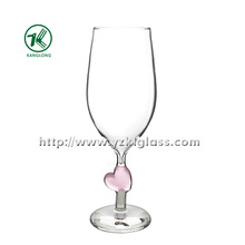 Single Wall Wine Glass by SGS, BV (dia7.5*21)