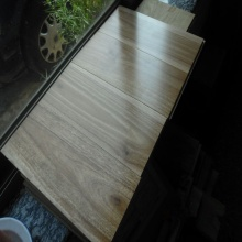 Prefinished Solid Spotted Gum Timber Flooring