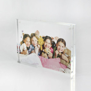 Cheap Perspex Block Photo Frame