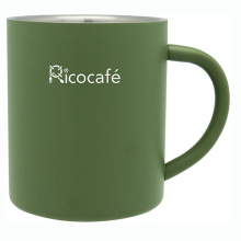 Acero inoxidable doble pared taza de café