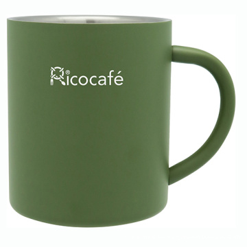 Acero inoxidable doble pared taza de café