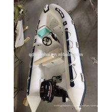 РЕБРА надувная лодка океана морских подвесным мотором