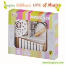 3 Anos Acima Lovely Crianças Madeira Instrumentos Musicais Toy