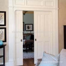 Interior curved wooden door soft close door sliding pocket door from Doorwin