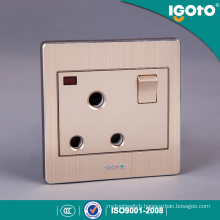 British Standard 15A Socket 3 Round Hole 15AMP Switched Socket
