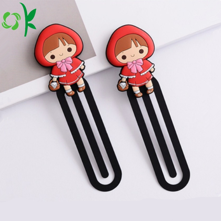 Lovely Silicone Bookmark
