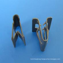 custom OEM metal clamp automotive metal spring clip