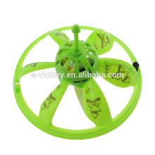Kid toys of flying UFO with LED colorful light