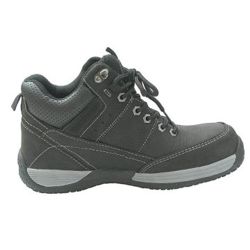 Split cow leather MD Sole Safety Shoes
