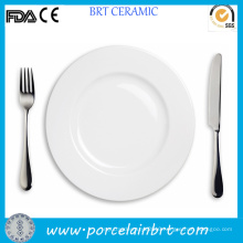 High Quality Restaurant White Steak Plate