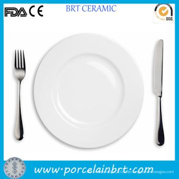 Hochwertiges Restaurant White Steak Plate