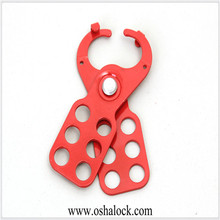 Economic Steel Lockout Hasp with Hooks