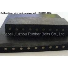 Resistente à chama de alta Performance de cabo de aço correia transportadora de borracha