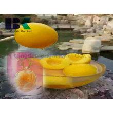Um dos melhores pêssegos amarelos enlatados para os membros da família