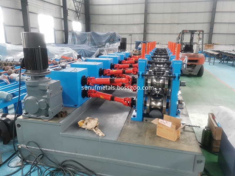 High Frequency Erw Direct Tube Mill Line 28