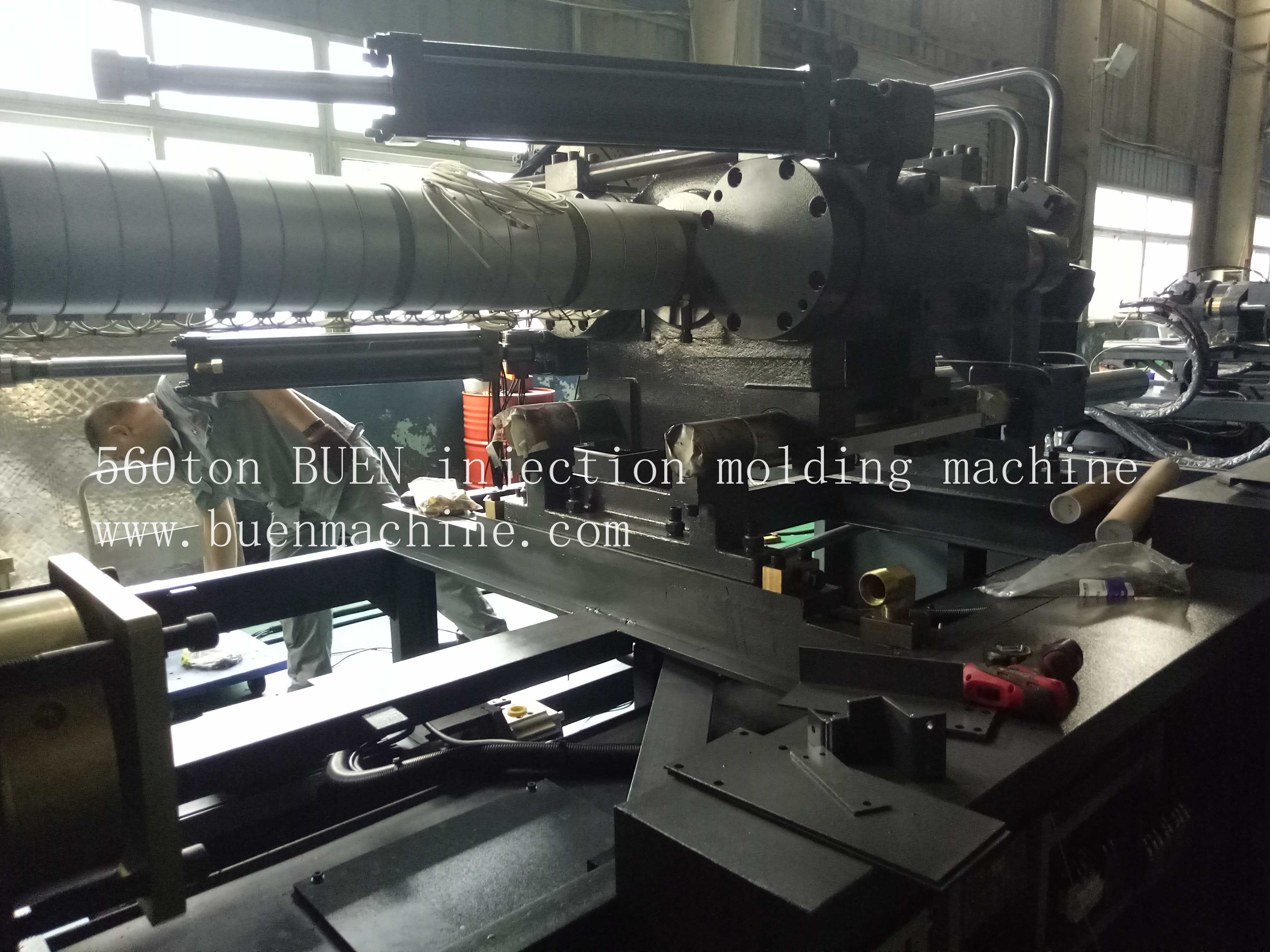 560ton injection machine 6