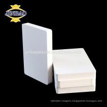 JINBAO high low density waterproof foam lowes pvc boards for cabinet