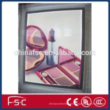 Panel de acrílico de la caja ligera al aire libre pantalla led cristal