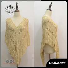 Women Special Design Sweater Poncho