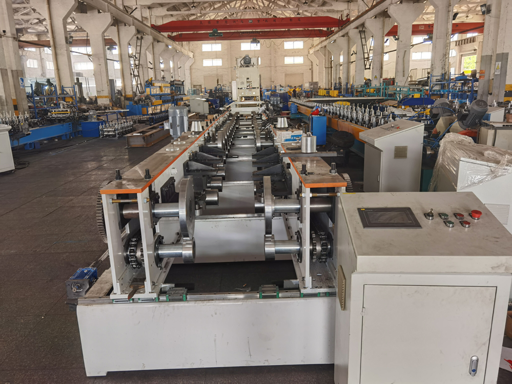 Automatic Adjustable Cable Tray Machine