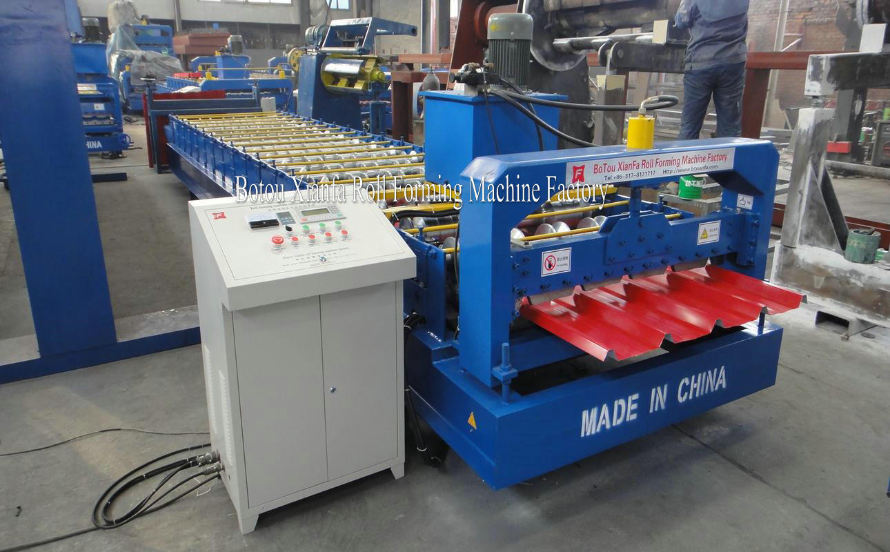 IBR roofing forming machine