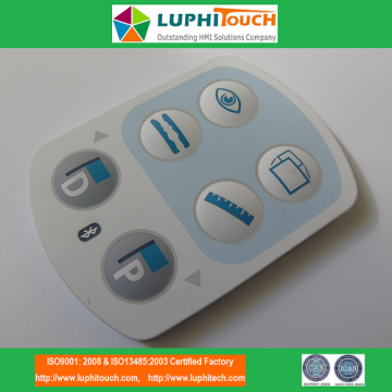 factory low price Used for Offer Silicone Rubber Keypads,CNC Machine Silicone Rubber Keypads,Colorful Silicone Rubber Keypads From China Manufacturer Medical Device Laser Etching Backligt SIlicone Rubber Keypad supply to Italy Exporter