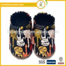 Novo design quente venda moda sapatos de bebê lona casual calção infantil para meninas