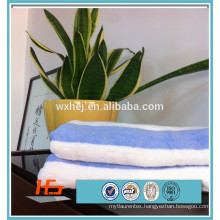 yarn dyed blue white stripe pool towel beach towel bath towel
