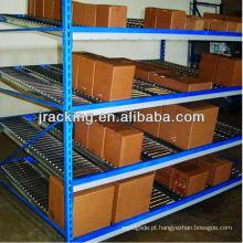 Cremalheiras de exposição contrárias do metal, racking móvel do fluxo da caixa do armazenamento do suporte de ferramenta dos espanadores
