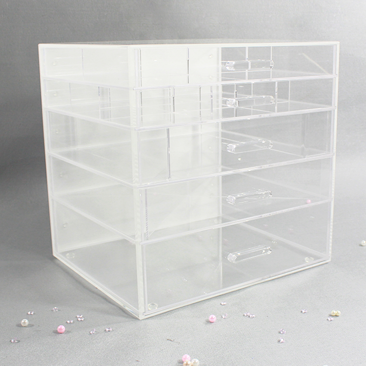 Cheap Acrylic Cosmetic Organizer Box
