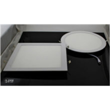 24W AC95-240V Pure White LED Panel Light